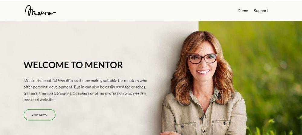 Mentor- Templates- Website Templates-Themeforest
