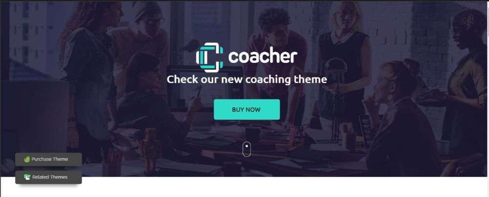 12 Stunning Life Coaches WordPress Themes- Coacher