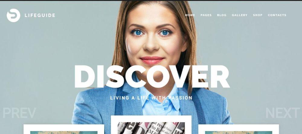 12 Stunning Life Coaches WordPress Themes- LifeGuide