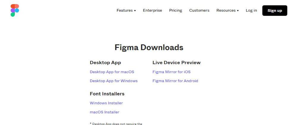 Figma- Free website wireframe tool
