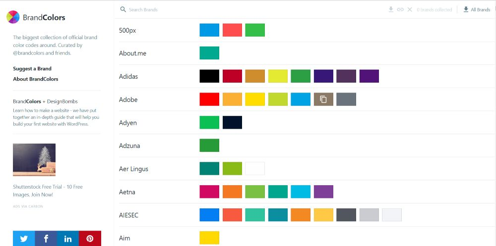 BrandColors - Color Scheme Generators To Use in 2020