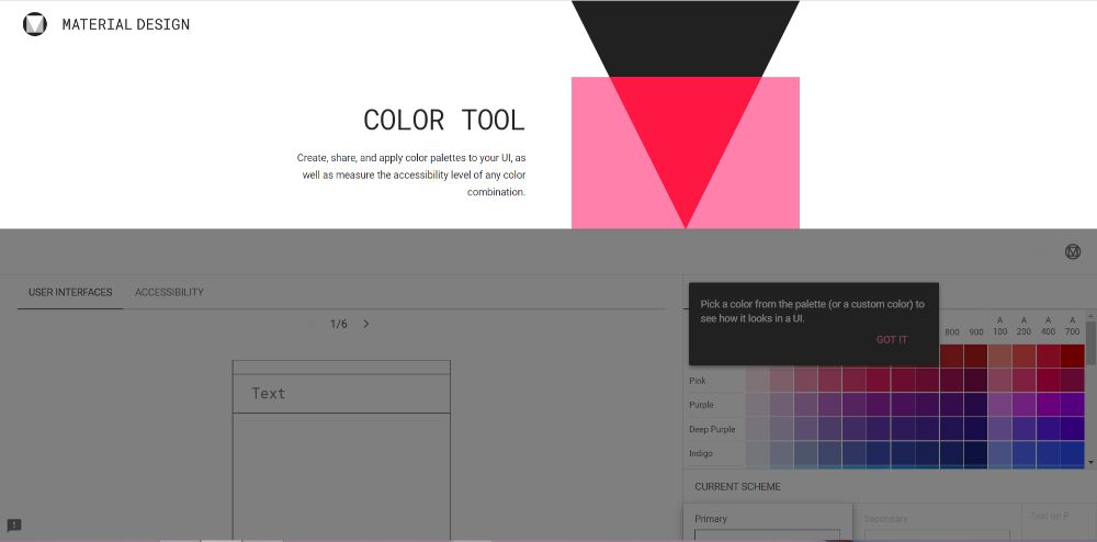 ColorTool - Color Scheme Generators To Use in 2020