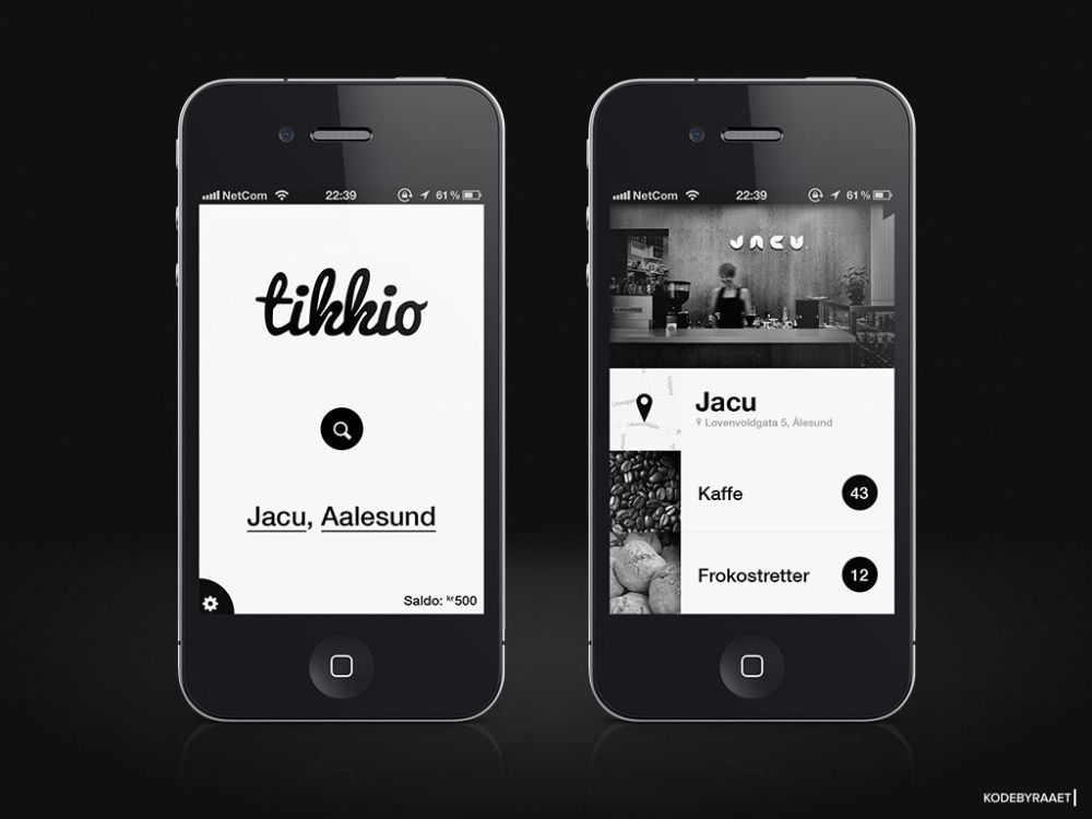Monchrome - Branding - App Design Trends 2020
