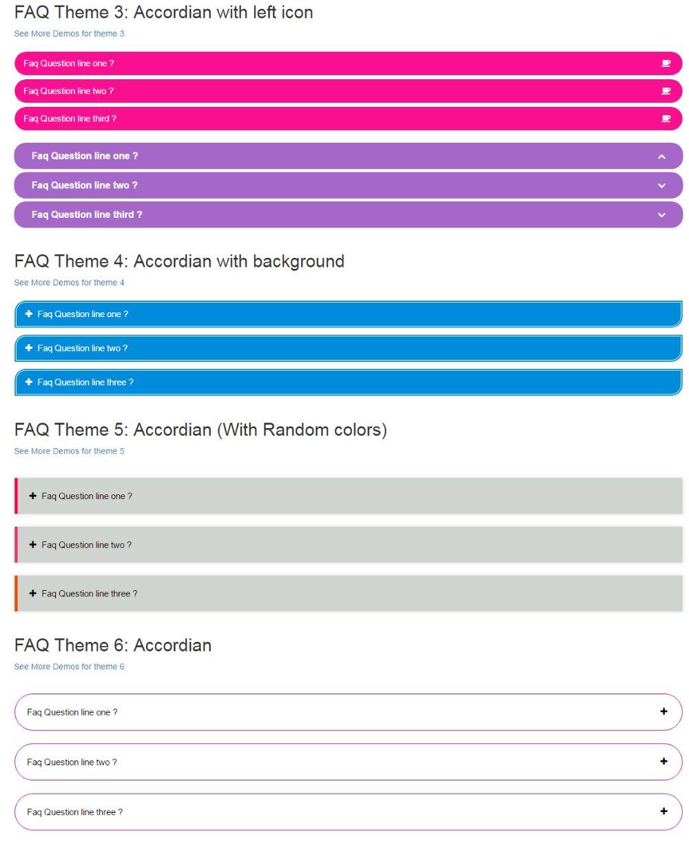 WordPress FAQ Plugins - HTML5 Responsive FAQ