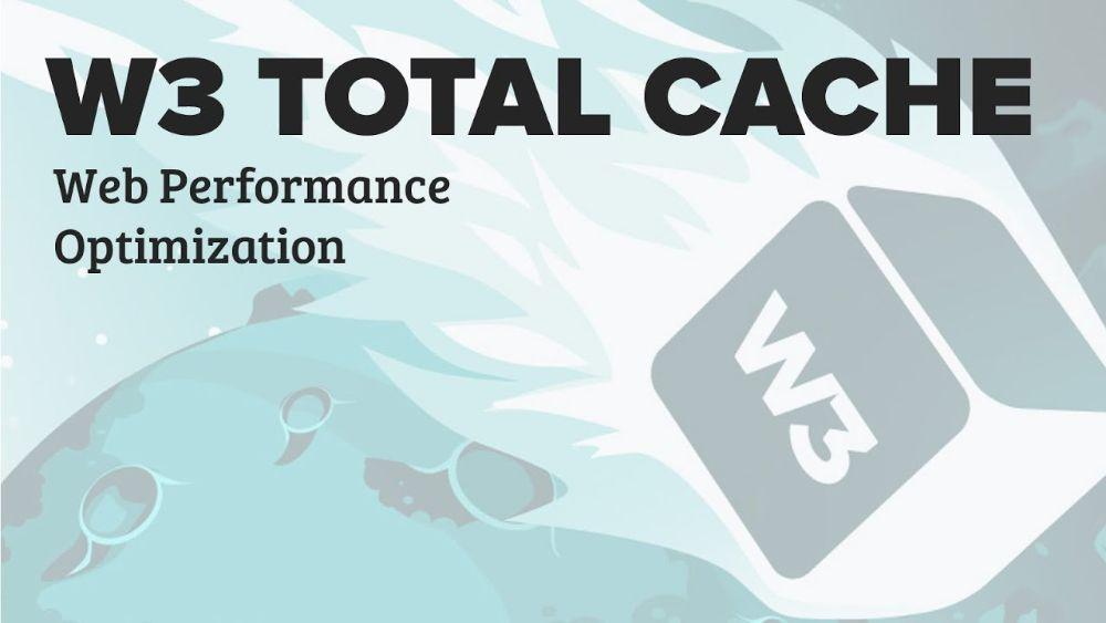 Wordpress Plugins - W3 Total cache