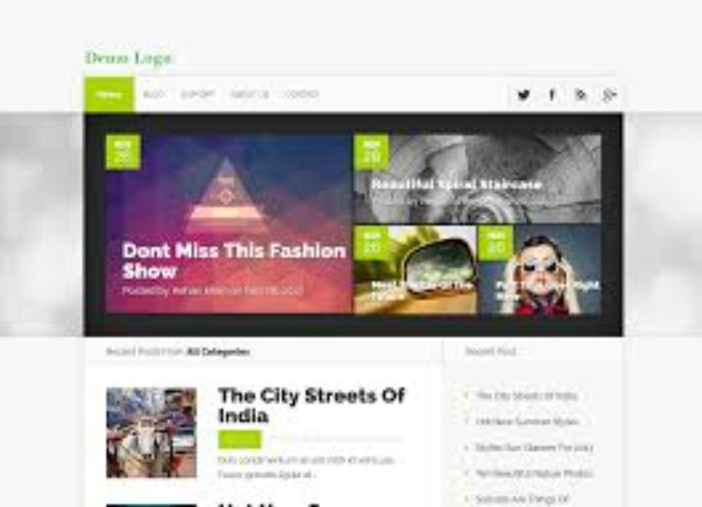 different websites - blogs