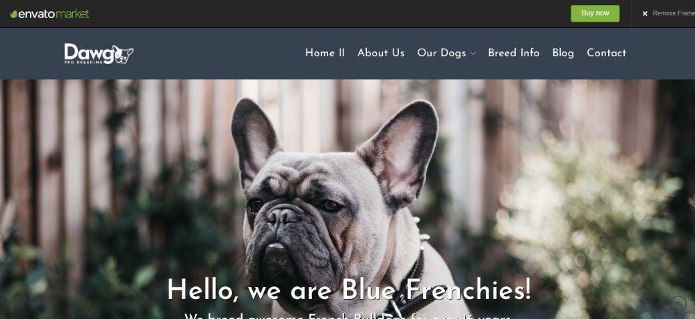 WordPress Child Theme - Dawg