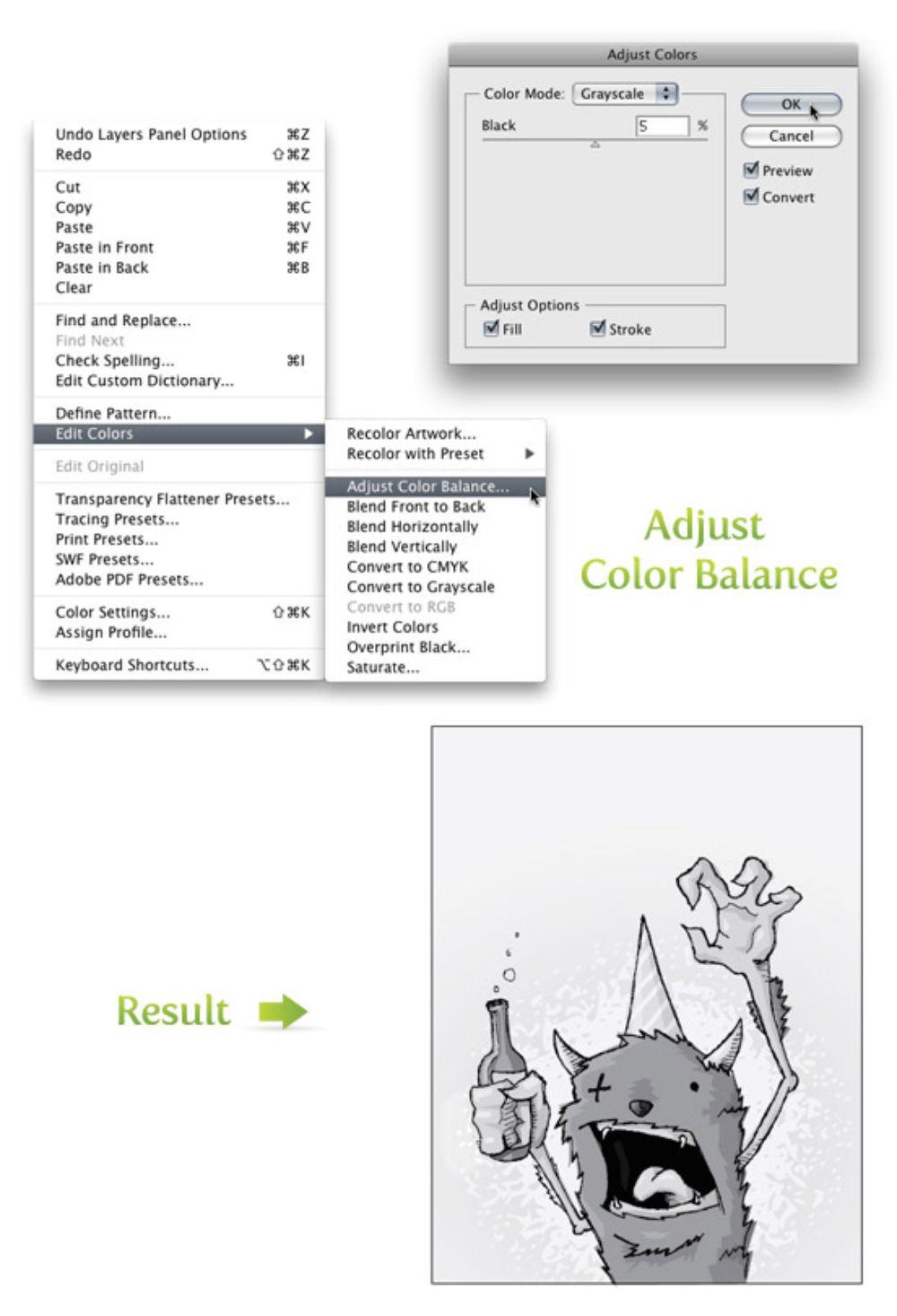 Color Balance Adjustment_Illustrator
