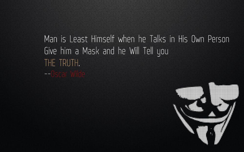 Oscar Wilde Quote_Mask