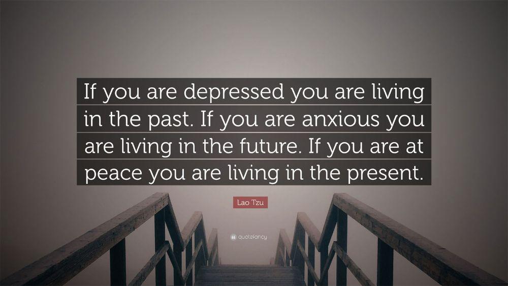 Past-future Lao Tzu Quote