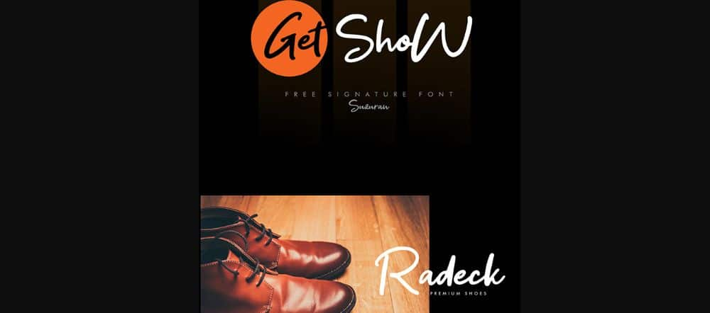 Get Show Font