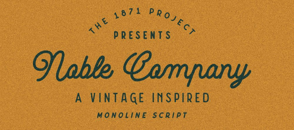 Noble Company Font