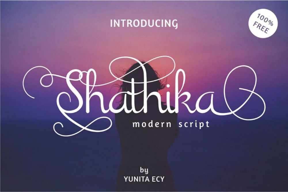 Shathika Modern Script