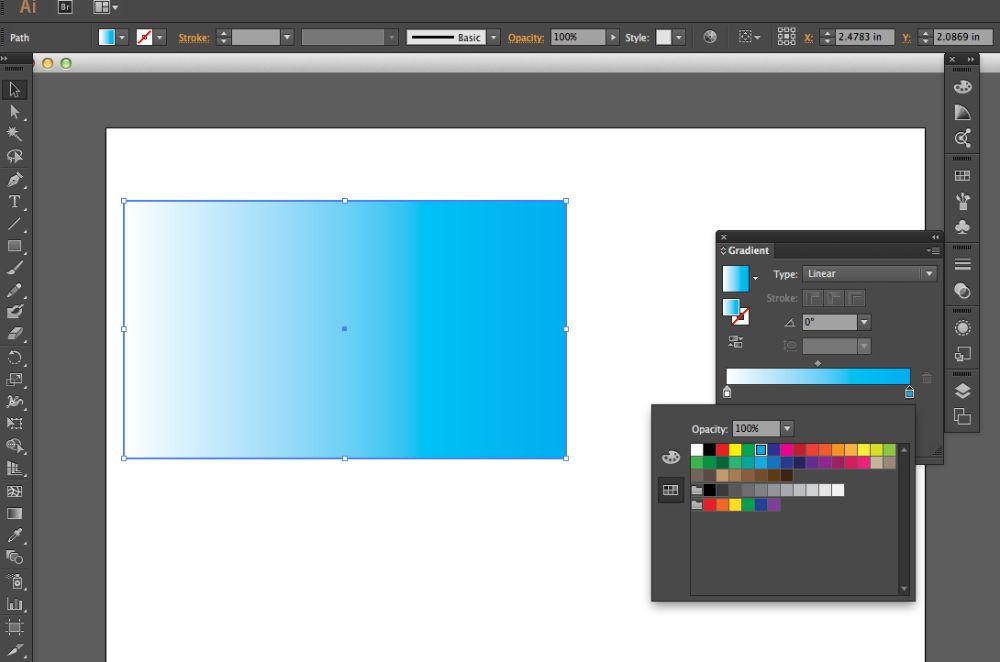 Types of gradients