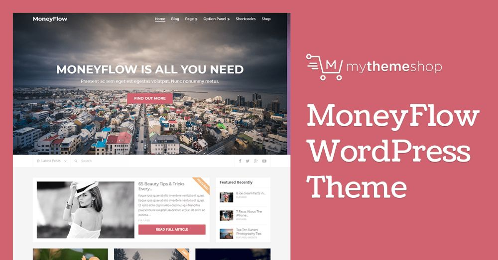 WordPress Themes for Affiliate Marketing: Money Flow