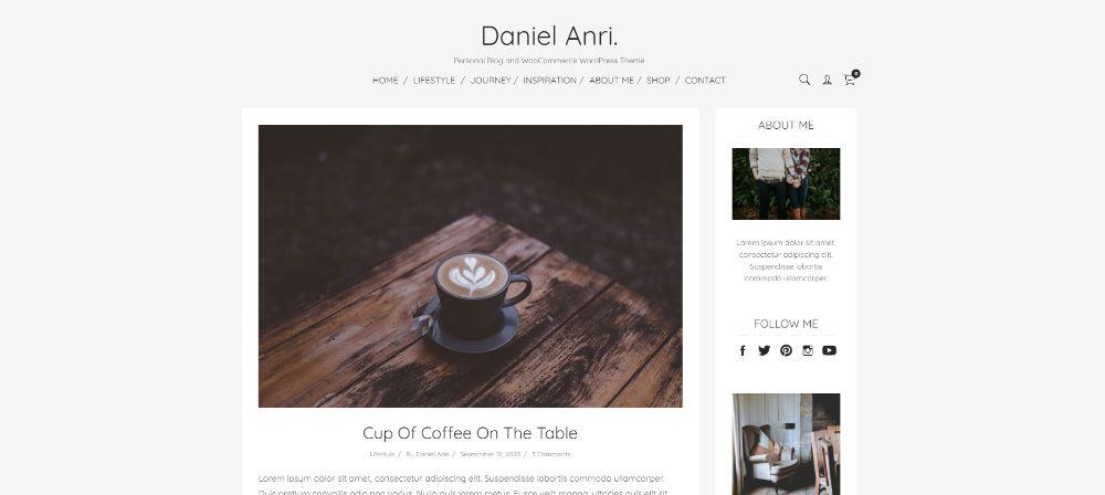 WordPress Themes for Affiliate Marketing: Avri