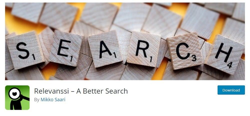 Best Search Engine Plugins for WordPress: Relevansi