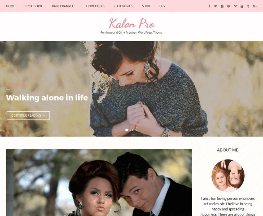 WordPress Themes for Affiliate Marketing: Kalon Pro