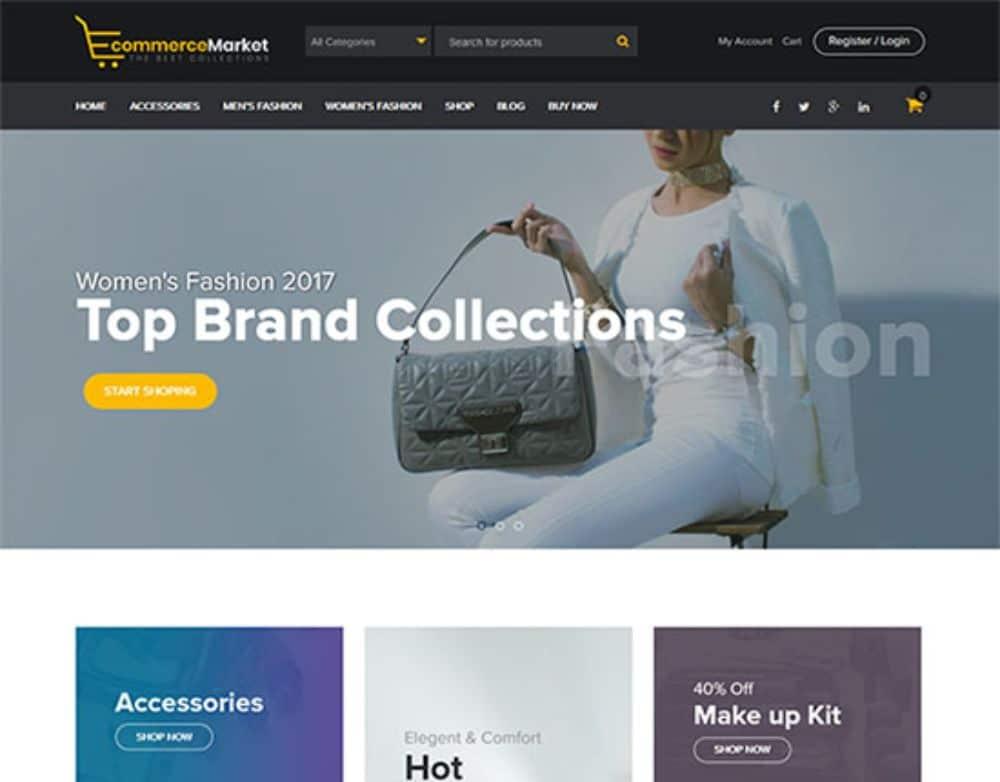 WordPress Theme for Dropshipping: E-Commerce Market