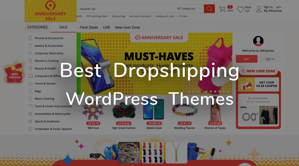 WordPress Theme for Dropshipping