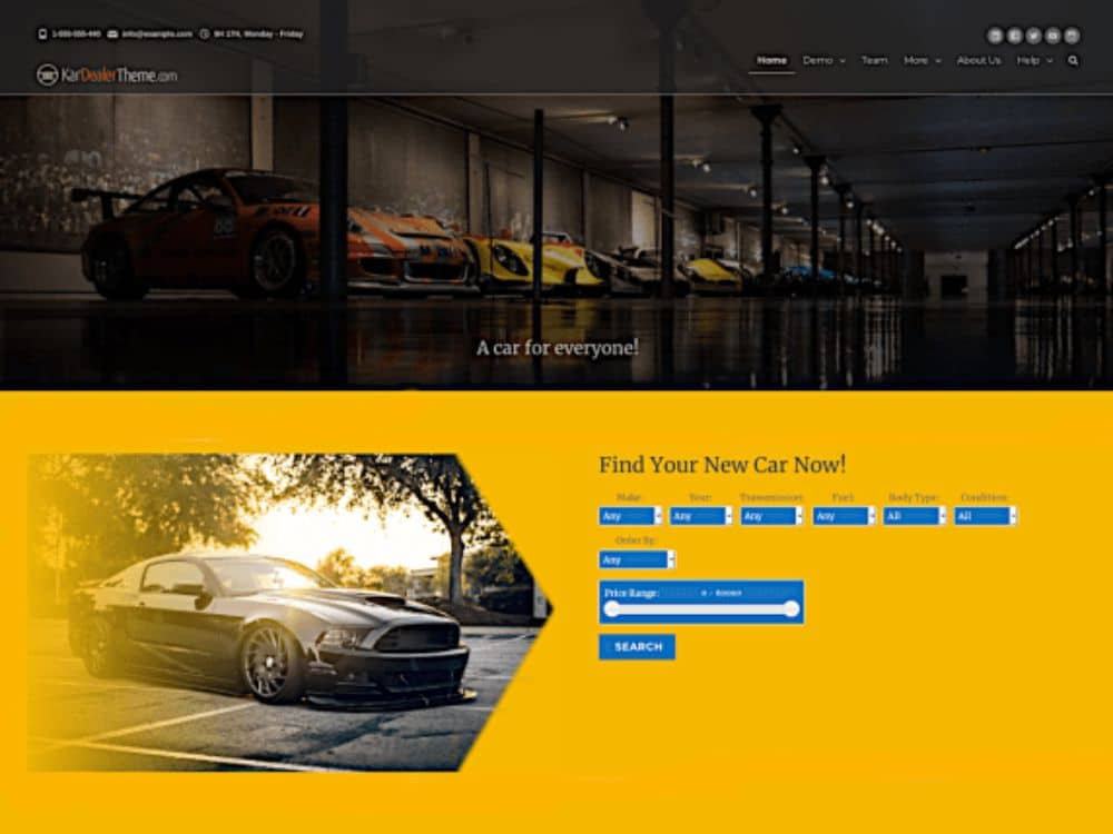 Amazing WordPress Themes for Car Dealers: KarDealer
