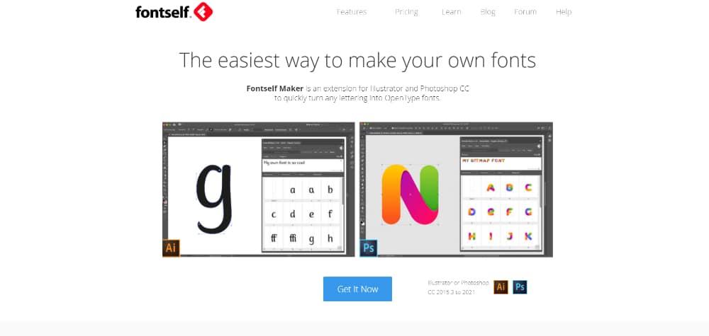 14 Best Photoshop Plugins for 2021: FontSelf Maker