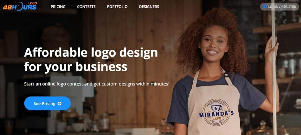 Best Design Contest Websites: 48 Hours Logo