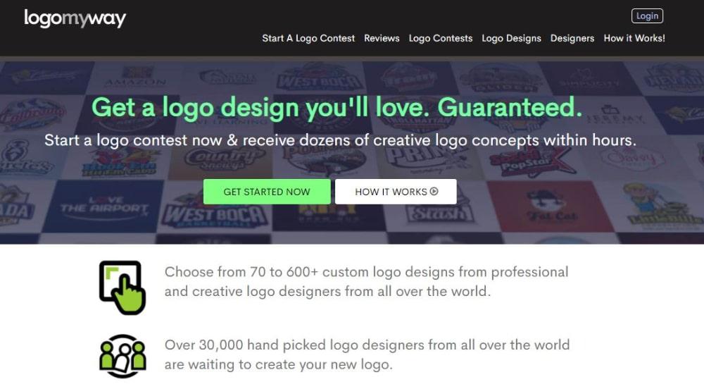 Best Design Contest Websites: Logo My Way
