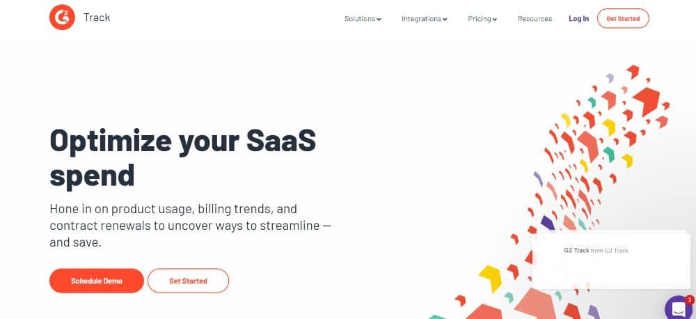 WordPress Plugins for SaaS websites: G2 Track