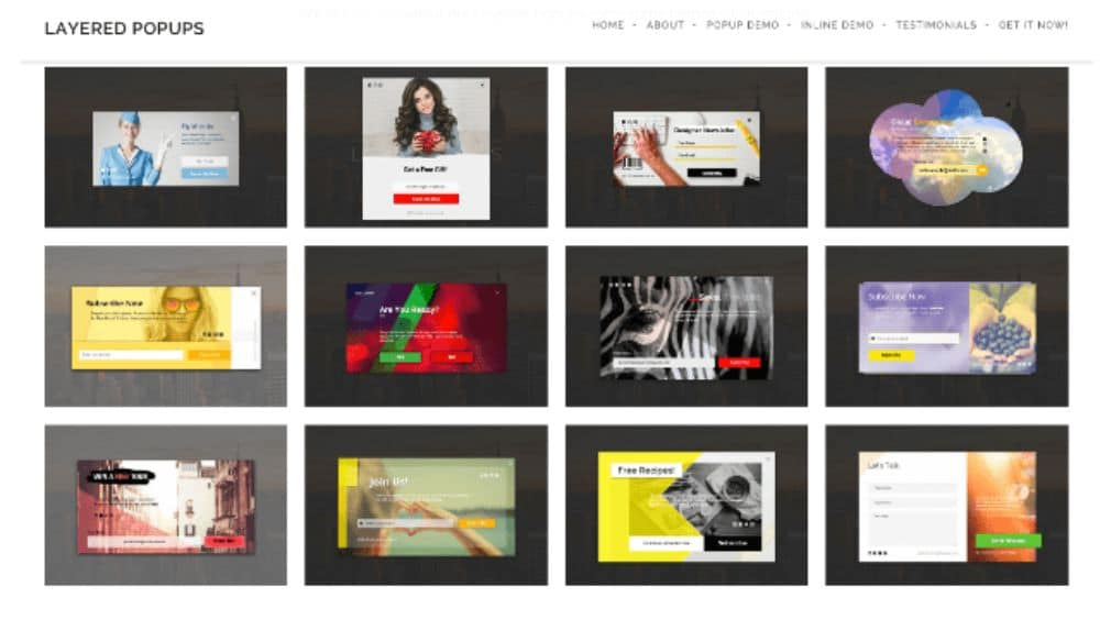 WordPress Plugins for SaaS websites: Layered Popups