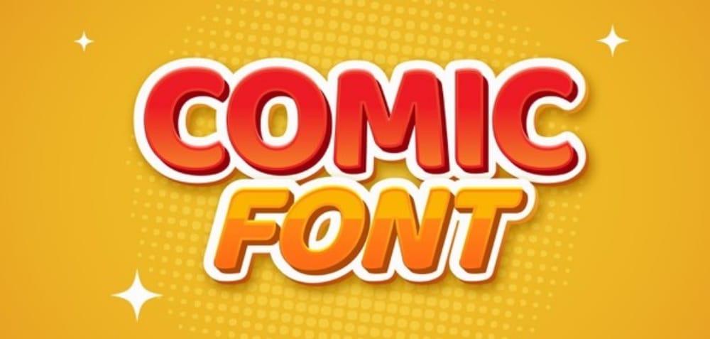 Best Comic fonts for designers