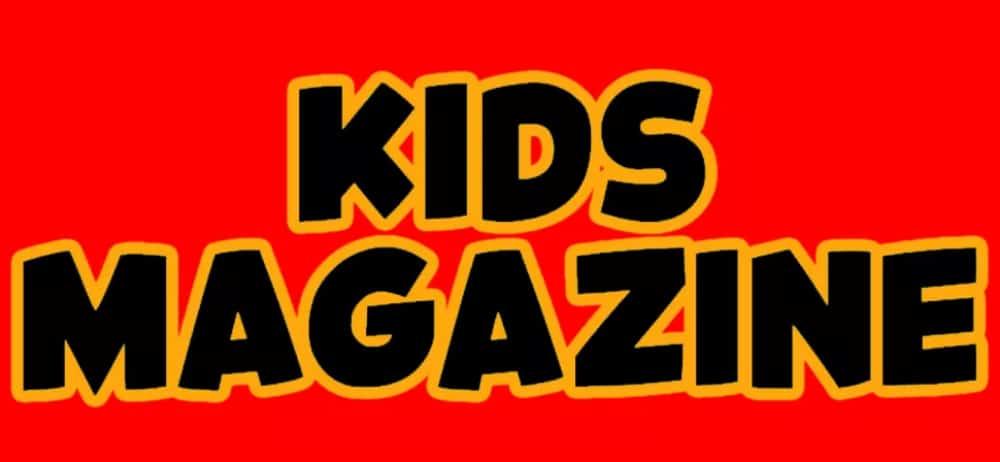 Best Comic fonts for designers: Kids Magazine