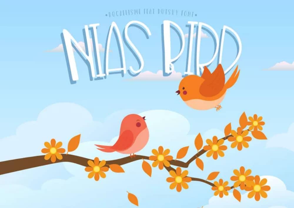 Best Comic fonts for designers: Nilas Font