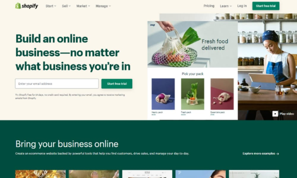 Best WooCommerce Alternatives: Shopify