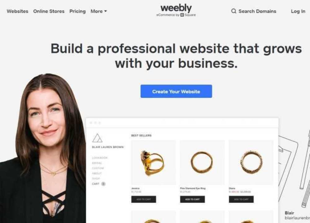 Best WooCommerce Alternatives: Weebly