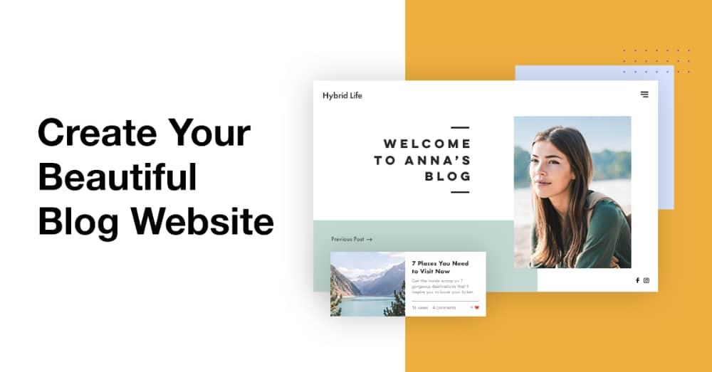 How To Earn Money As Graphic Designer: Create a Design Blog Website
