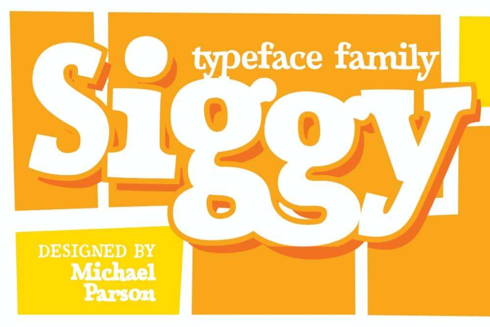 Best Fonts for Brochures & Flyers: Siggy