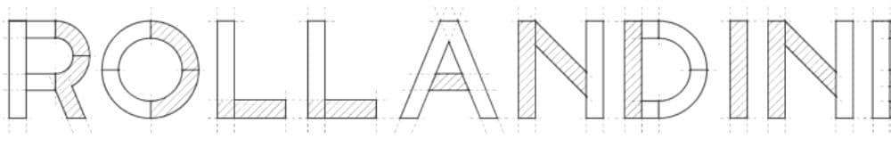 Free Industrial Fonts for Designers: RollandIn
