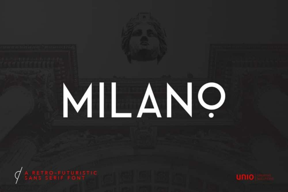 Best Fonts for Brochures & Flyers: Milano