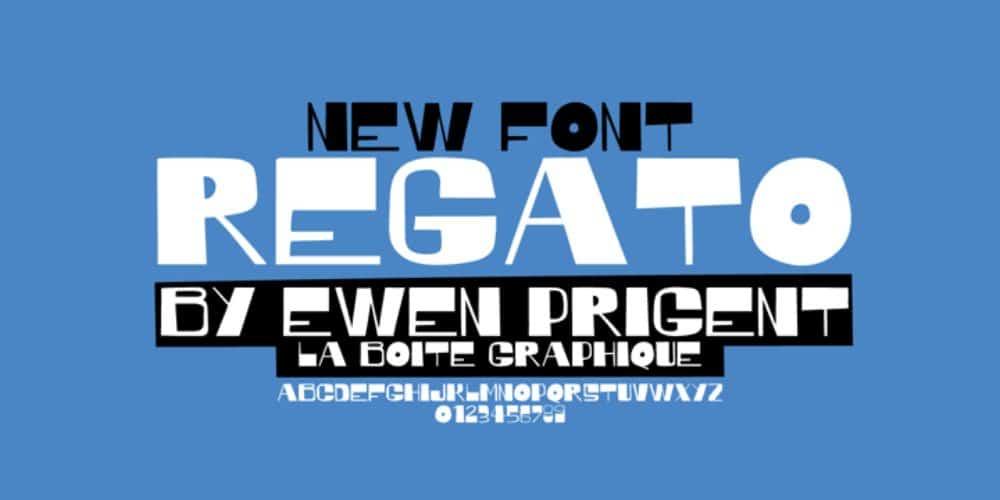 Best Fonts for Brochures & Flyers: Regato