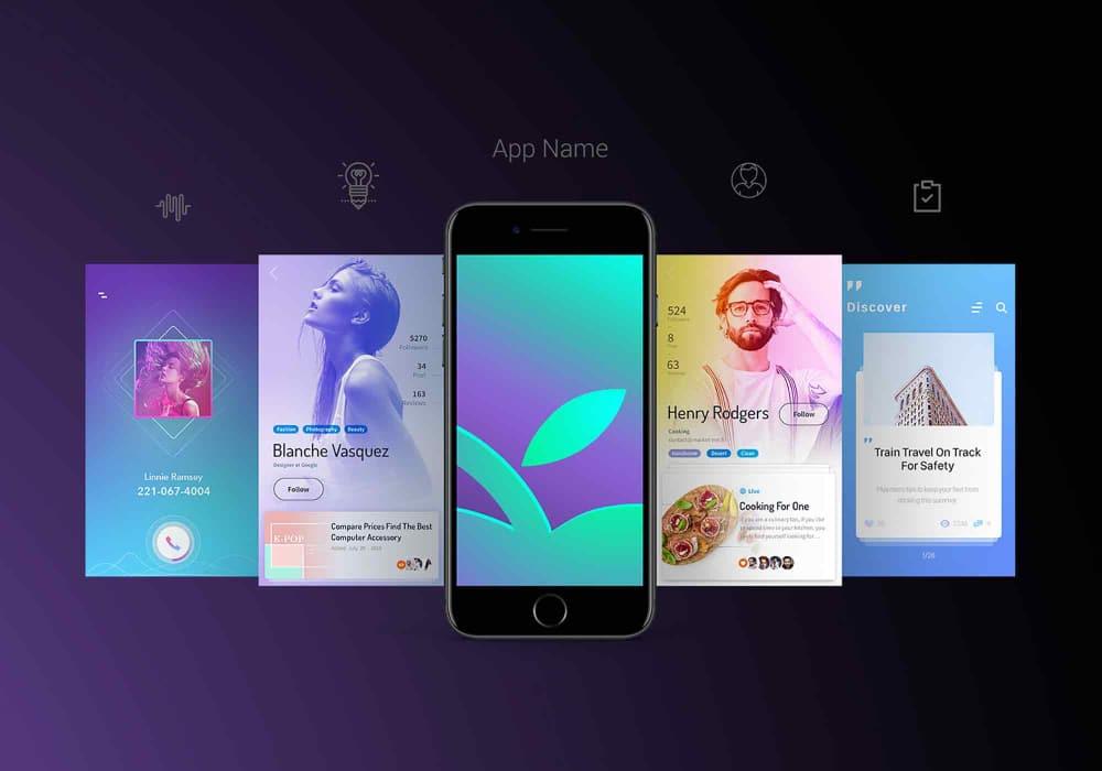 Free Mobile Application Mockups Designers Can Download
