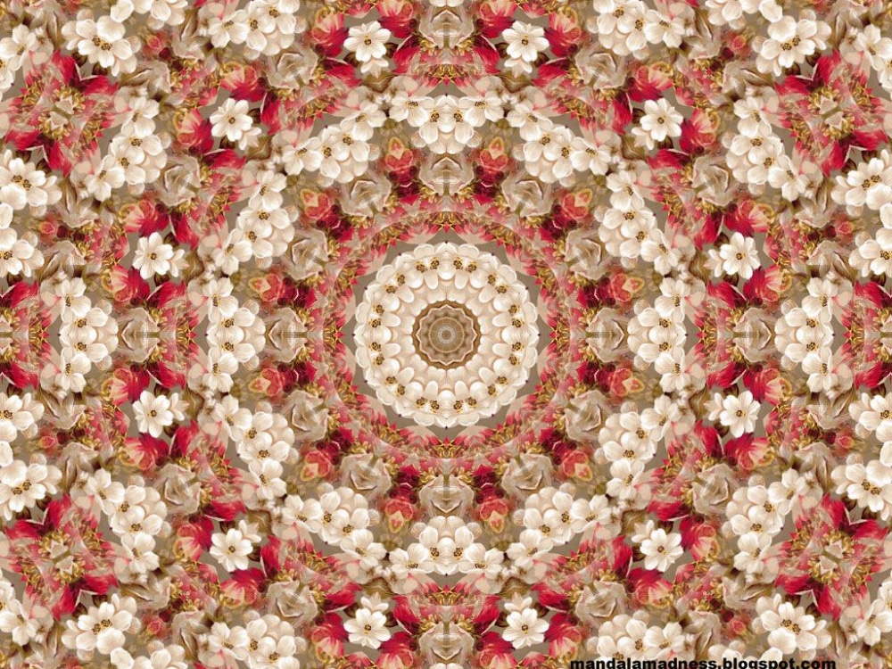 Free Mandala Designs: Floral Mandala