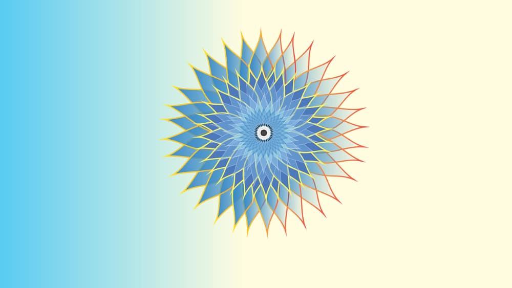 Free Mandala Designs: Modern Flower