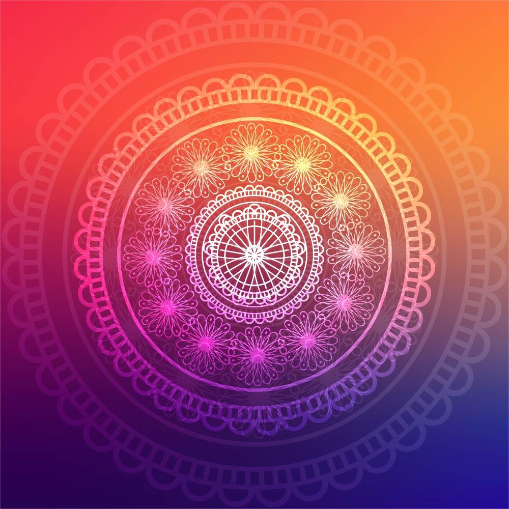 Free Mandala Designs: Abstract Colorful