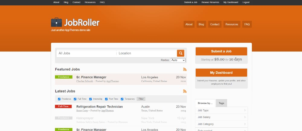 Best Job Board WordPress Themes of 2021: Jobroller