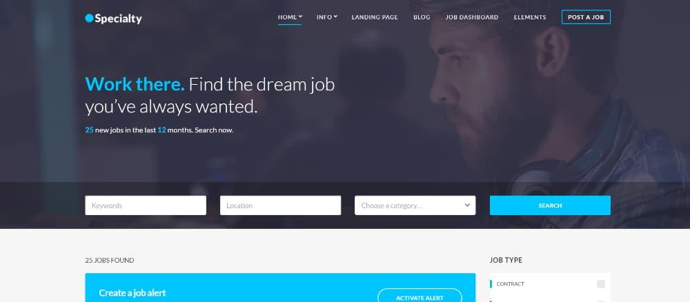 Best Job Board WordPress Themes of 2021: Speciality